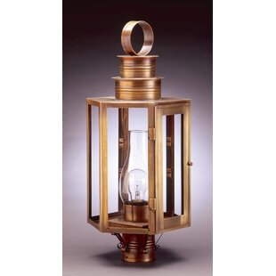 Gilliam Chimney Large Hexagon 1-Light Lantern Head by Alcott Hill