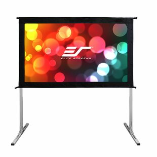 Check Prices 4K Ultra HD Portable Projection Screen By Elite Screens