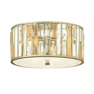 Hinkley Lighting Mereworth 3-Light Flush Mount
