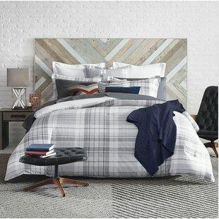 Parker Plaid 100 Cotton Comforter Set By Tommy Hilfiger