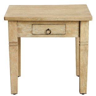 Poulan End Table by Millwood Pines
