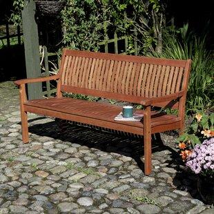 Mayela Wooden Bench Image