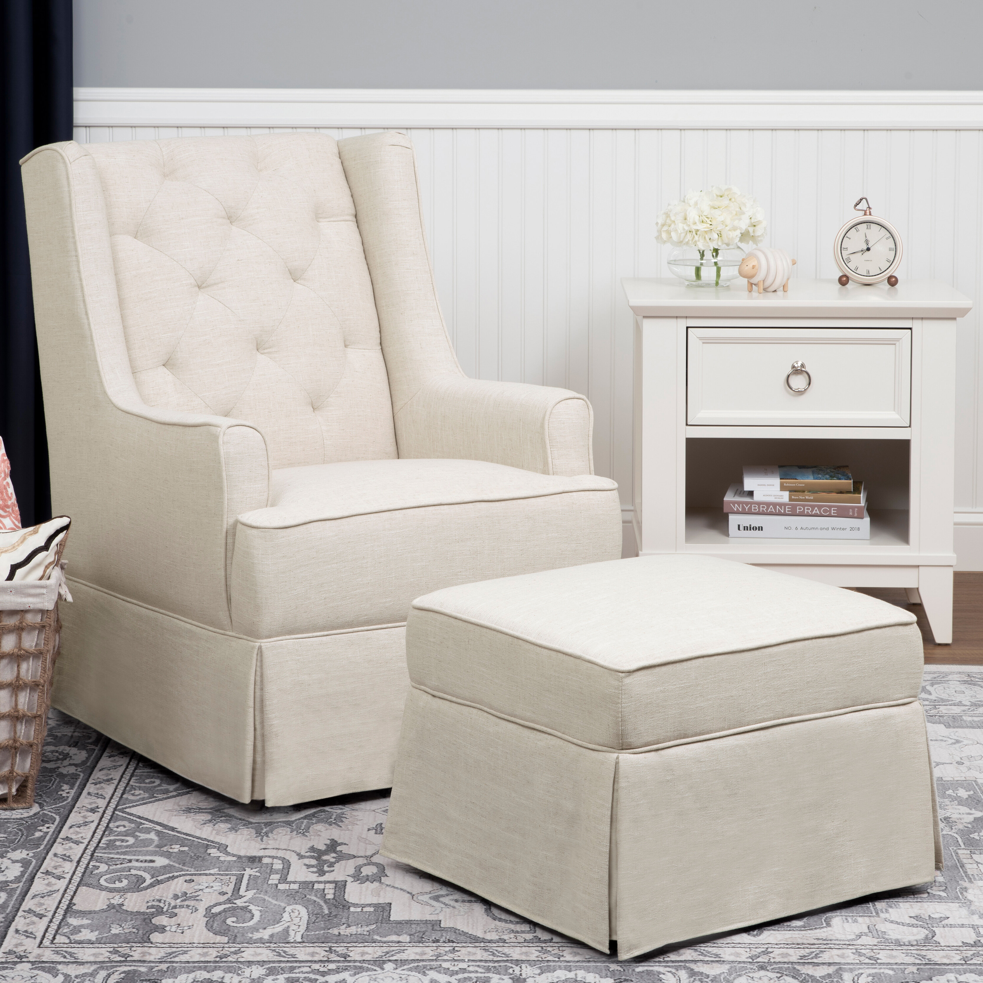 Brilliant Sadie Glider And Ottoman Pabps2019 Chair Design Images Pabps2019Com