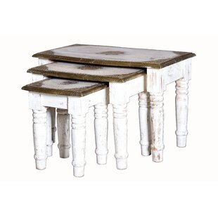 Berrada Nest Of Tables (Set Of 3) By Latitude Vive | Buy Cheap