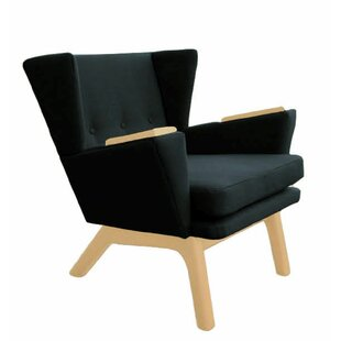 Brayden Studio Cromwell Wingback Lounge Chair