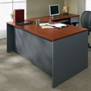 Adaptabilities Shell Executive Desk by Global Total Office Cool