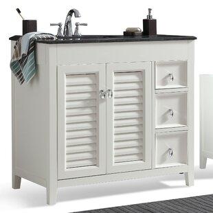 Price comparison Adele 37 Single Bathroom Vanity Set BySimpli Home