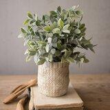 "10.25"" Artificial Eucalyptus Plant in Pot"