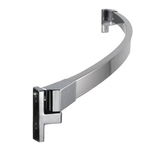 Preferred Bath Accessories 62'' Adjustable Curved Shower Curtain Rod