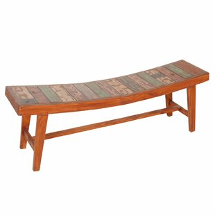 Wood Bench by Joseph Allen