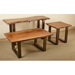 Millwood Pines Waldon 3 Piece Coffee Table Set