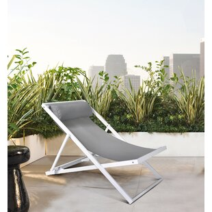 Wave Powder Coating Patio Dining Chair By Armen Living