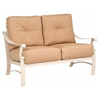 Woodard Bungalow Loveseat with Cushions