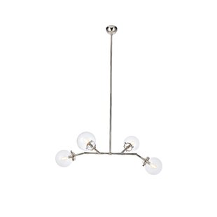 Corrigan Studio Roman 4-Light Sputnik Chandelier
