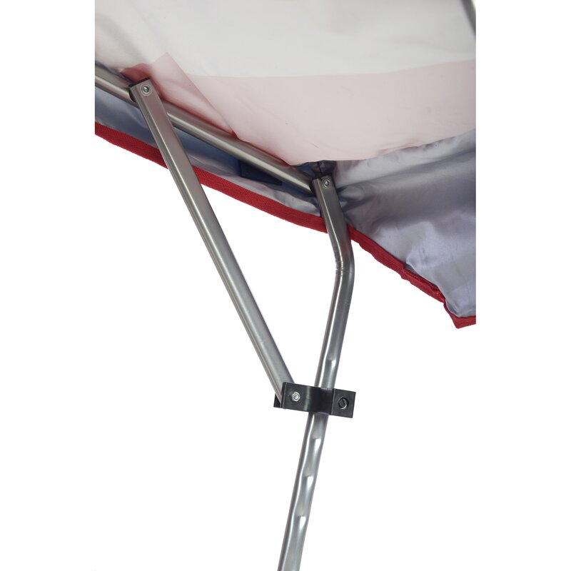 Quik Shade Drapeau Américain Pliant Camp Chaise Avec Réglable Soleil Ombre Sac de rangement