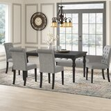 Evelin Solid Wood Dining Set by Charlton Home®