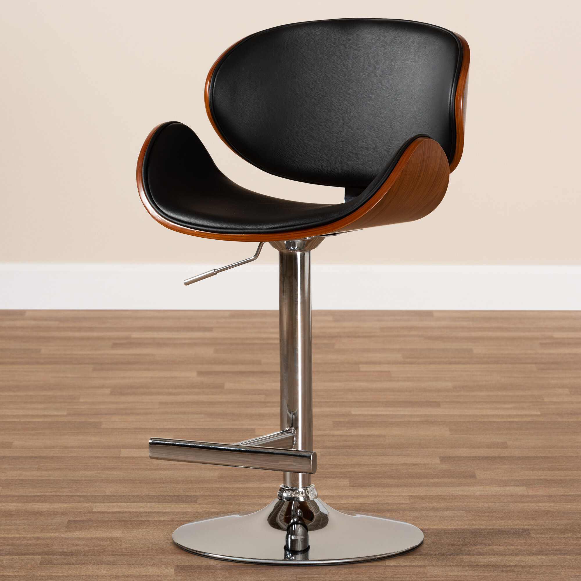 Astonishing Brinkerhoff Adjustable Height Swivel Bar Stool Caraccident5 Cool Chair Designs And Ideas Caraccident5Info