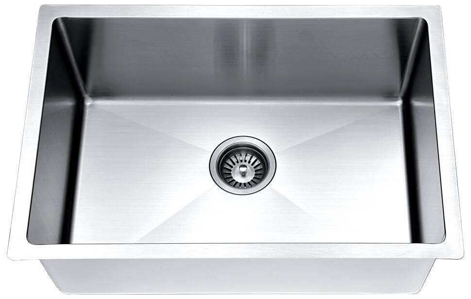 Esr240900 Extra Small Radius Stainless Steel Sink 18g
