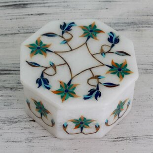 Top Reviews Fair Trade Marble Inlay Jewelry Box By Novica