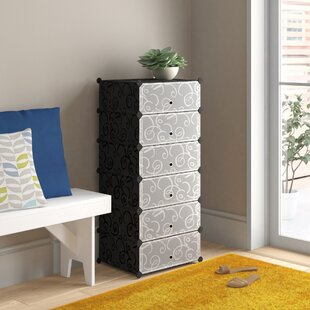 12 Pair Shoe Storage Cabinet By Symple Stuff
