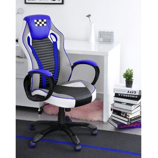Zamora High Back Ergonomic Gaming Chair by Symple Stuff No Copoun