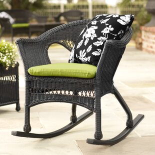 Plow & Hearth Easy Care Wicker Rocking Chair