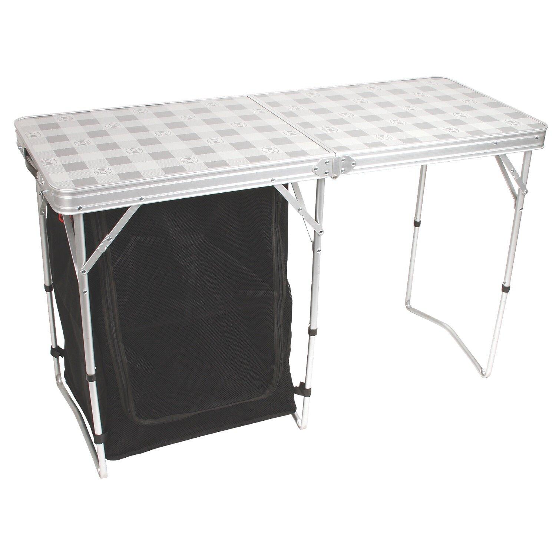 Coleman Cupboard Folding Silver Camping Table Wayfair