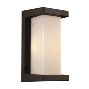 Great deal Jorge 1-Light Outdoor Flush Mount By Latitude Run