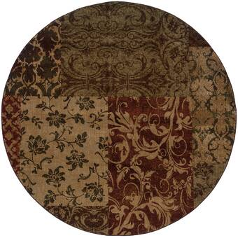 Charlton Home Marta Brown Rug Wayfair