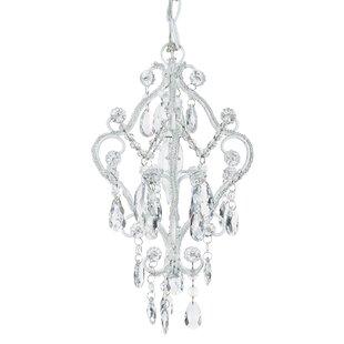 Alida 1-Light Crystal Pendant ByHouse of Hampton