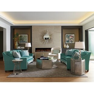 Ariana 3 Piece Coffee Table Set