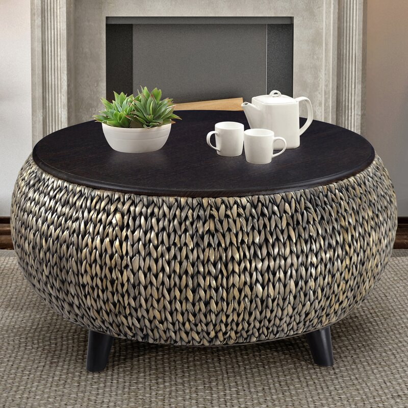World Menagerie Dimitri Round Coffee Table Reviews Wayfair
