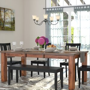 Burgess Extendable Dining Table by Loon P..