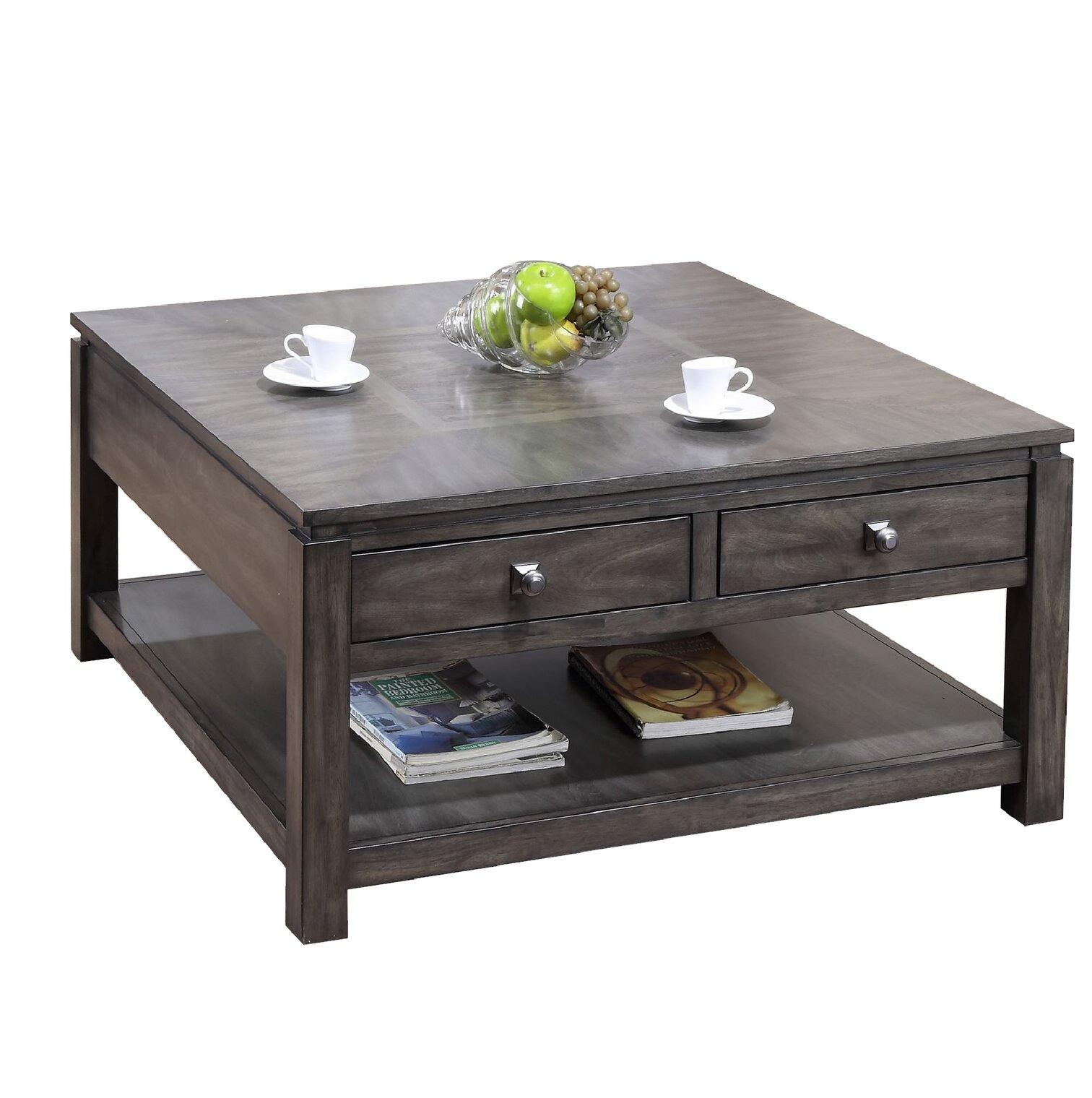 Loon Peak Orta Square Coffee Table