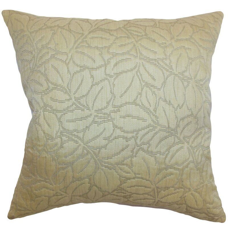 Darby Home Co Chandlee Floral Velvet Throw Pillow Cover Wayfair