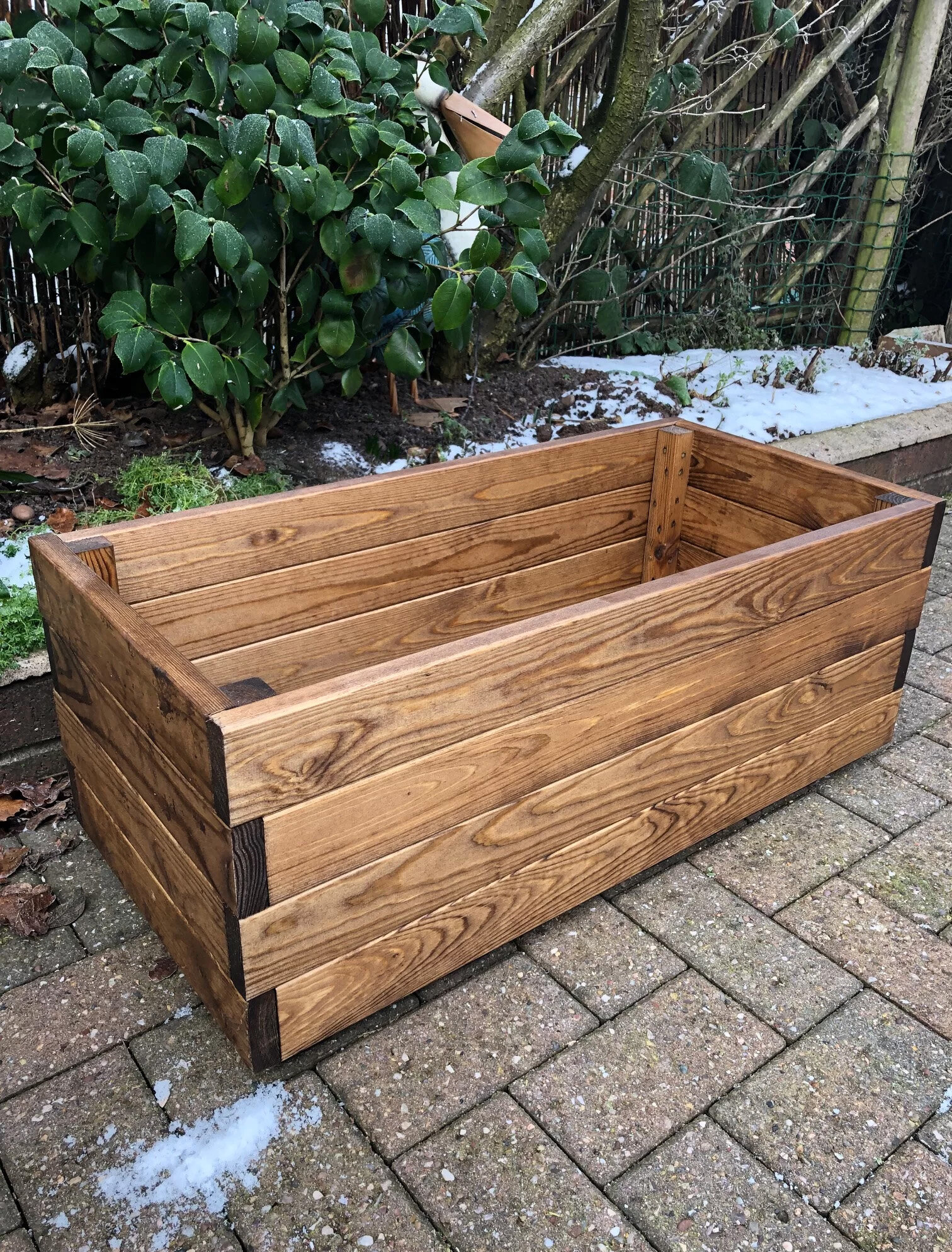 Alpen Home Trevion Wooden Planter Box Reviews Wayfair Co Uk