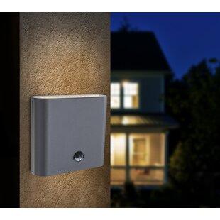Sisco 30 Light Outdoor Flush Mount With Motion Sensor Image