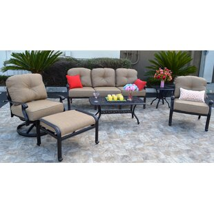Three Posts Sidney 6 Piece Sunbrella Sofa Set with Cushions