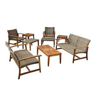 Brickey 9 Piece Sofa Seating Group