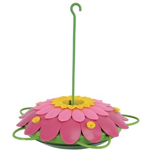 Nature's Way So Real 3D Flower Hummingbird Feeder