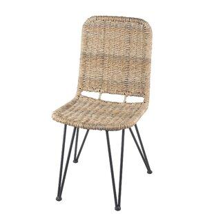 Tekamah IndoorOutdoor Rattan 175 Parsons Chair
