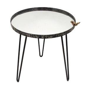 Foreside Home & Garden Bird Mirror End Table