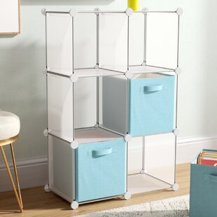 Symple Stuff Modern Cube DIY Unit Cube Bookcase