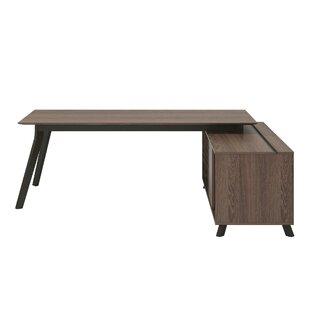 Wrought Studio Gleason 2 Piece L-Shape Desk Office Suite