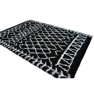 Coupon Jarne Tribal Black/White Area Rug By Union Rustic