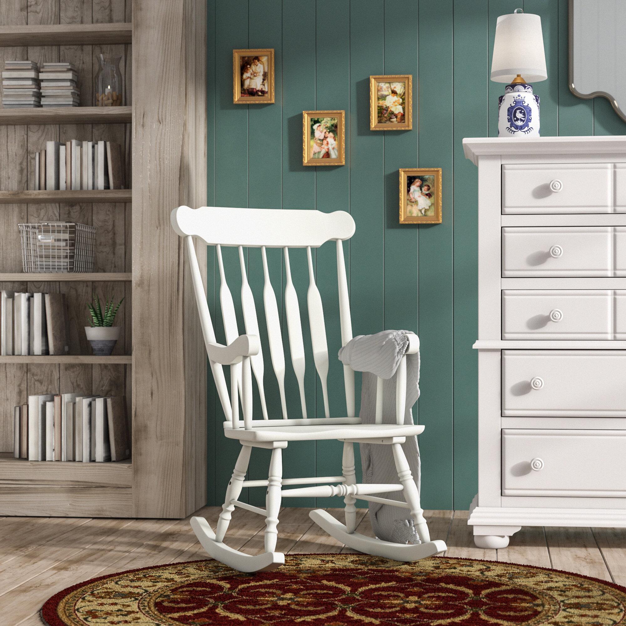 Three Posts Mcneel Rocking Chair Reviews Wayfair