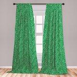 Lime Green Curtains Wayfair