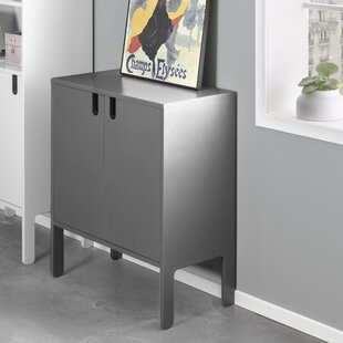 Grey 2 Drawer 2 Door Cabinet Wayfair Co Uk