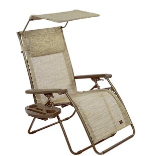 Kaleb Deluxe Reclining/Folding Zero Gravity Chair