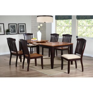 Open Solid Wood Dining Chair (Set of 2) b..